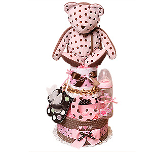 Chocolate Polka Dots Bear