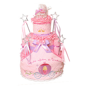Once Upon A Time Diaper Cake