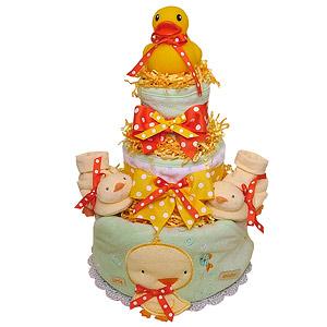 RubberDuck Diaper Cake