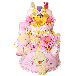 Custom Duck Diaper Cake