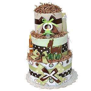 Fawn Diaper Cake