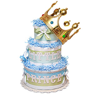 Little Prince Custom Diaper Cake