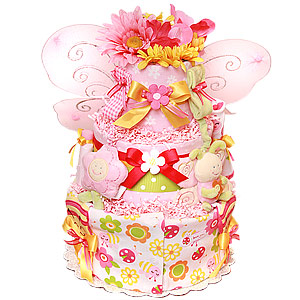 Little Cutie Butterfly Diaper Cake
