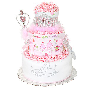 Once Upon A Time Princess Diaper Cake