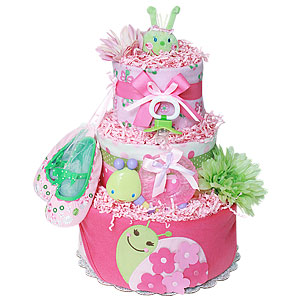 Caterpillar Diaper Cake