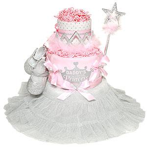 Daddy's Little Princess Diaper Cake