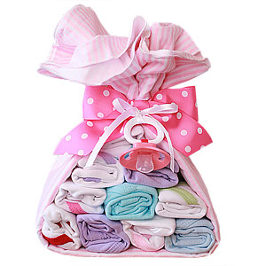 Pink Stork Bundle with Bodysuits