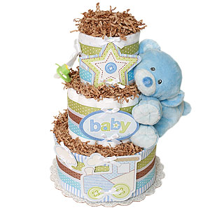 My First Bear Diaper Cake