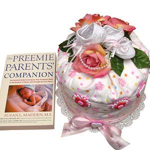 PREEMIE Diaper Cake